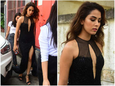 Pics: Mira makes heads turn with her style