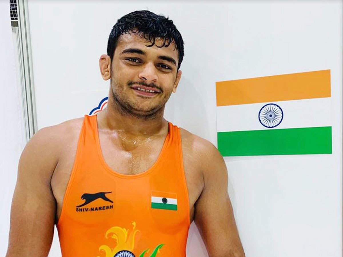 Olympic medal a realistic target: Deepak Punia | More sports News - Times  of India