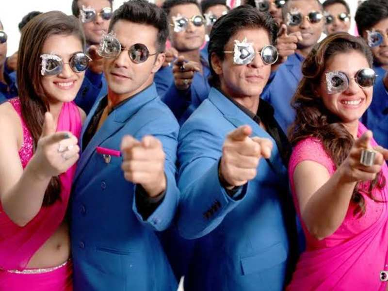 Shah Rukh Khan, Kajol, Varun Dhawan and Kriti Sanon's 'Dilwale' clocks 4  years; fans get nostalgic   Hindi Movie News - Times of India