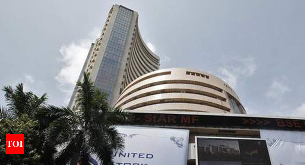 Sensex scales fresh peak; Nifty nears 12,300 thumbnail