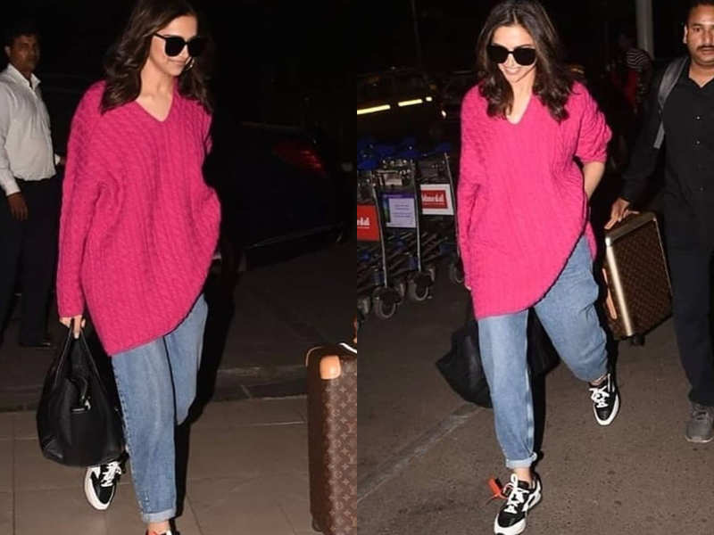 Guess the price of Deepika Padukone's EXPENSIVE pink sweater
