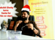 Rakshit Shetty turns Santa for his co-stars