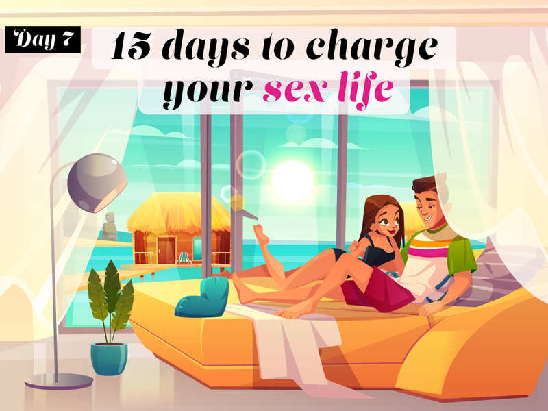15 days to spice up your sex life in 2020: Blindfold and put on a little show (tip no. 7)