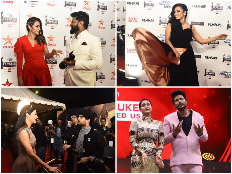 Here's what stars were up to at the 66th Yamaha Fascino Filmfare Awards South 2019