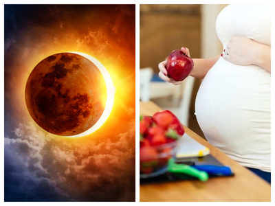 Food tips for pregnant women during Surya Grahan