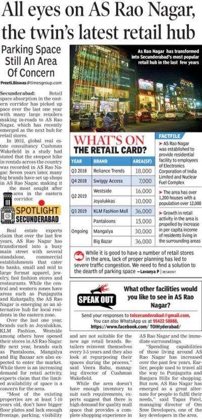 Klm shopping mall as rao nagar