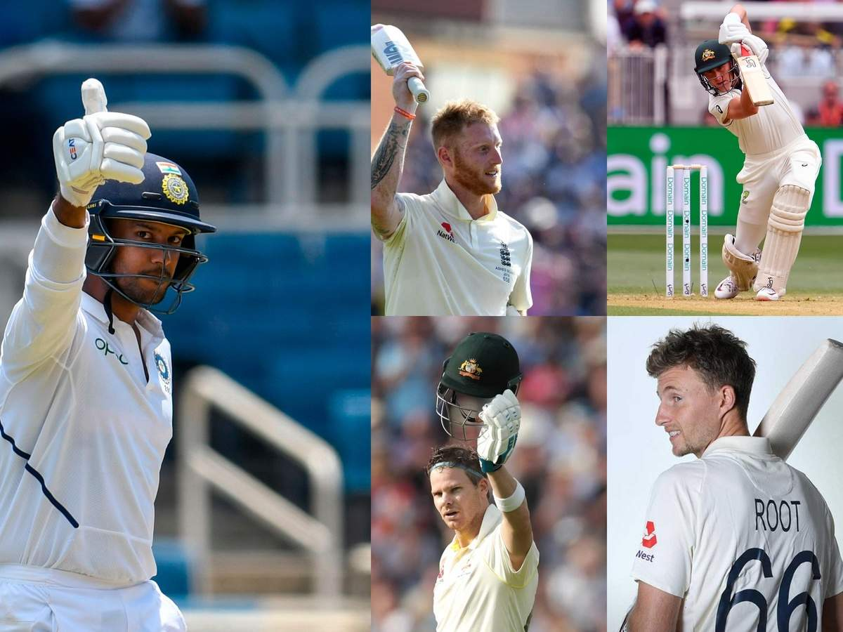 From Marnus Labuschagne To Mayank Agarwal The Top Five Test Batsmen Of 2019 Yearender 2019 News Times Of India