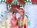 Saloni and Mitul's wedding ceremony