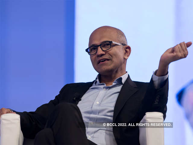 Satya Nadella is the chief executive officer of Microsoft