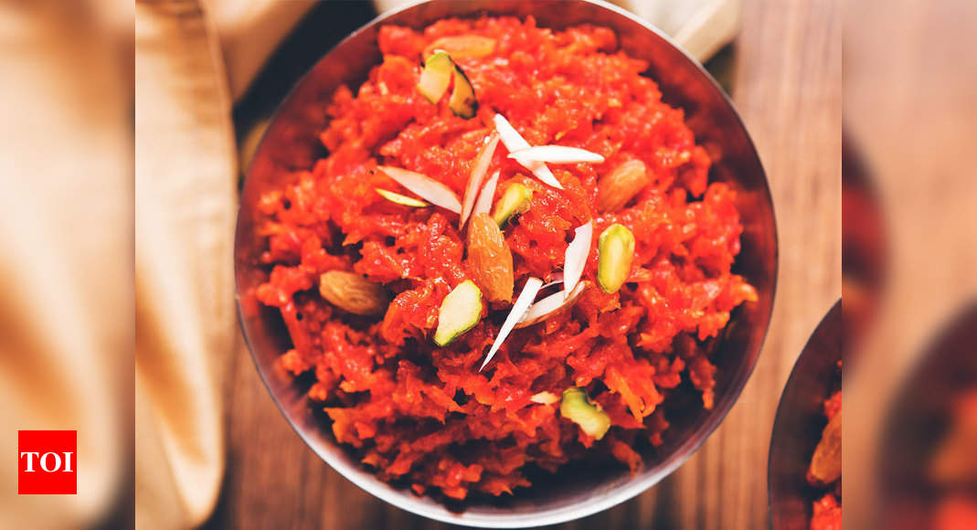 How To Make Gajar Ka Halwa In 4 Different Ways Times Of India Roll over to evenly spread on the pan. make gajar ka halwa in 4 different ways