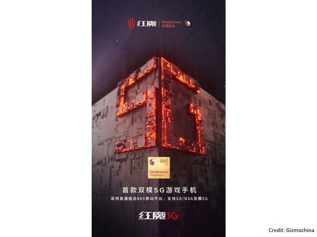 Nubia teases Red Magic 5G phone with Snapdragon 865 processor