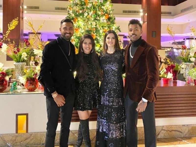 Hardik Pandya S Brother Krunal Pandya Welcomes Natasa Stankovic To The Family Shares A Picture Hindi Movie News Times Of India