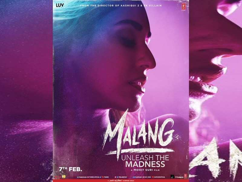 Malang First Look Disha Patani Looks Enticing In The Film Poster Hindi Movie News Times Of India