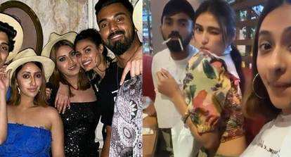Cricketer Kl Rahul And Rumoured Girlfriend Athiya Shetty S Party Pictures From Thailand Go Viral Hindi Movie News Bollywood Times Of India