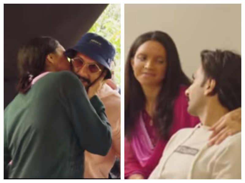 Watch: When Ranveer Singh visited wifey Deepika Padukone on the sets of 'Chhapaak'