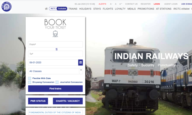 How to book train tickets using IRCTC's Pay later service