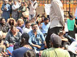 Hundreds protest JNU violence at Gateway of India