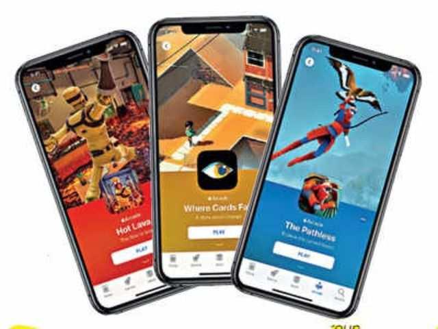Top trending games of the week (December 30, 2019 - January 5, 2020) on Apple Arcade