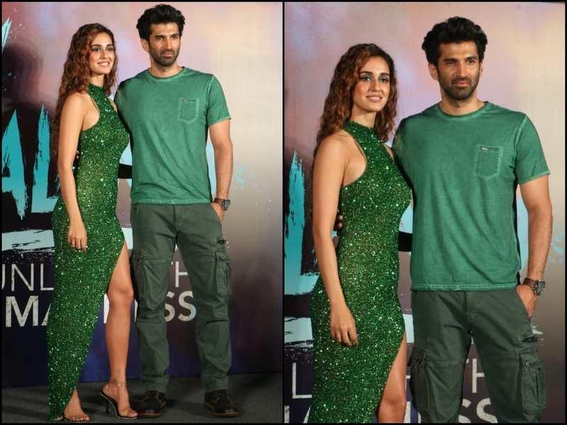 Malang Trailer Launch Disha Patani And Aditya Roy Kapur Make For A Hot Pair As They Twin In Green See Pics Hindi Movie News Times Of India