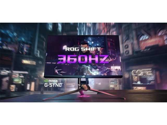 CES 2020: Asus unveils Swift gaming monitor with 360Hz refresh rate