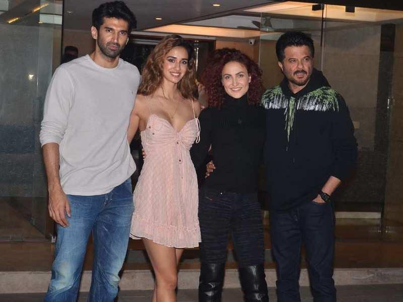 Malang Aditya Roy Kapur Disha Patani Anil Kapoor And Others Attend A Bash Hindi Movie News Times Of India