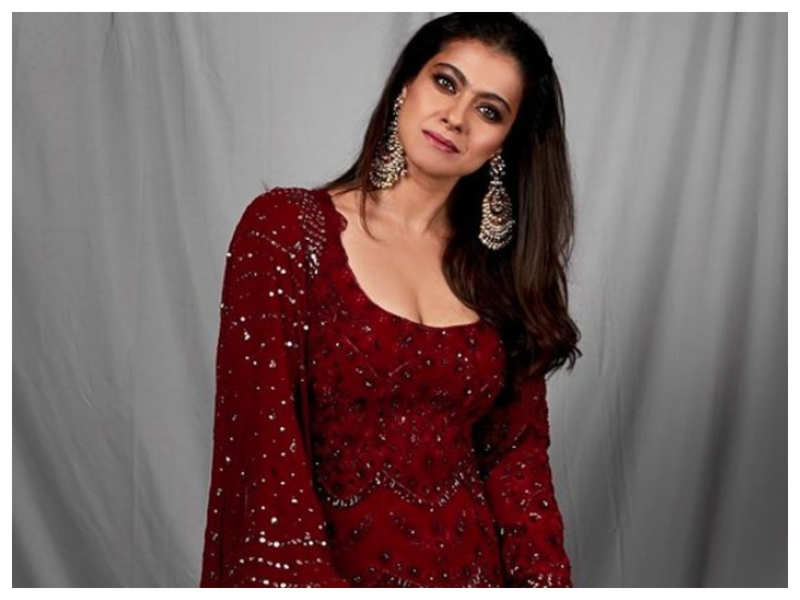 Kajol looks breathtakingly beautiful in her traditional look as she promotes 'Tanhaji: The Unsung Warrior'