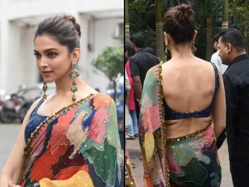Video Deepika Padukone On The Mystery Of Rk Tattoo I M Not Sure Hindi Movie News Times Of India
