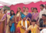 Students of Saraswati Bhuvan College celebrate spring festival