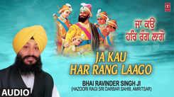 Punjabi Devotional And Spiritual Song 'Ja Kau Har Rang Laago' (Lyrical) Sung By Bhai Ravinder Singh