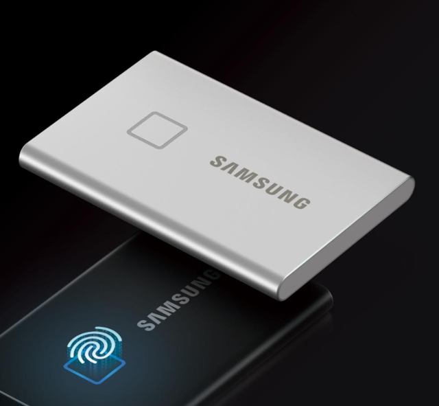 Samsung launches portable SSD with fingerprint sensor starting at Rs 11,999