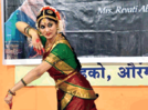 A Bharatanatyam dance to welcome the New Year