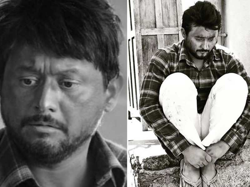 Throwback Thursday: Swwapnil Joshi shares his monochrome picture from the set of 'Bhikari'
