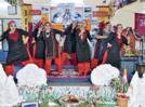 Women showcase the beauty of Kashmir through their dance