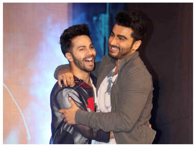Arjun wishes VD all the luck for 'Mr. Lele'