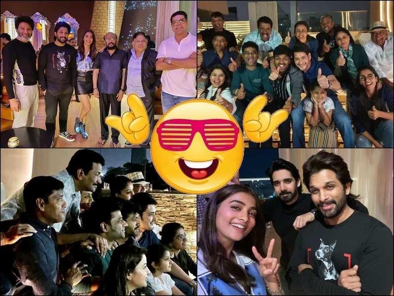Inside The Success Bashes Of Sarileru Neekevvaru And Ala Vaikunthapurramuloo Photos Telugu Movie News Times Of India