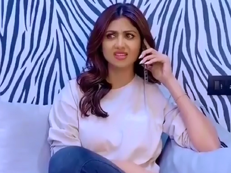 Video: Shilpa Shetty gives a hilarious twist to Ritesh Pandey's hit track 'Hello Kaun'