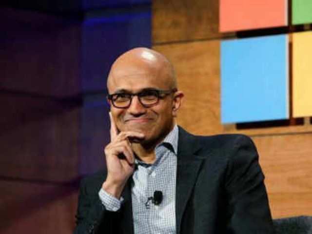 Satya Nadella spotted using upcoming Microsoft Surface Duo
