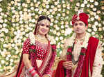 Harshita and Prakhar Singh's lavish wedding ceremony