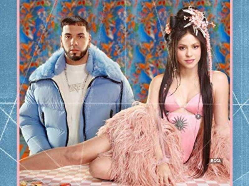 Shakira with Anuel AA