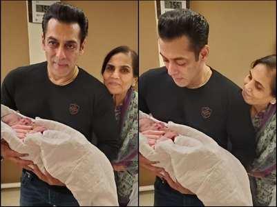 Arpita shares Salman & Ayat's cute pictures