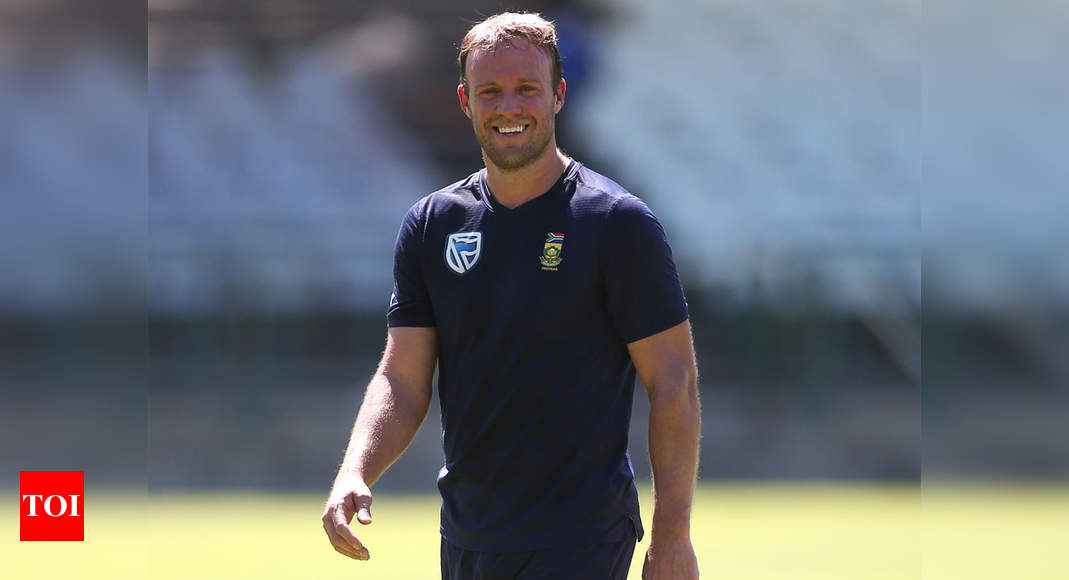 AB de Villiers 'would love' to make comeback for SA at T20 World Cup - Times of India