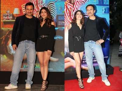 Saif - Alaya F 'Jawaani Jaaneman' song launch