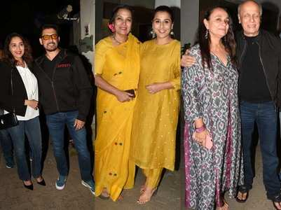 Celebs come to celebrate Kaifi Azmi's centenary