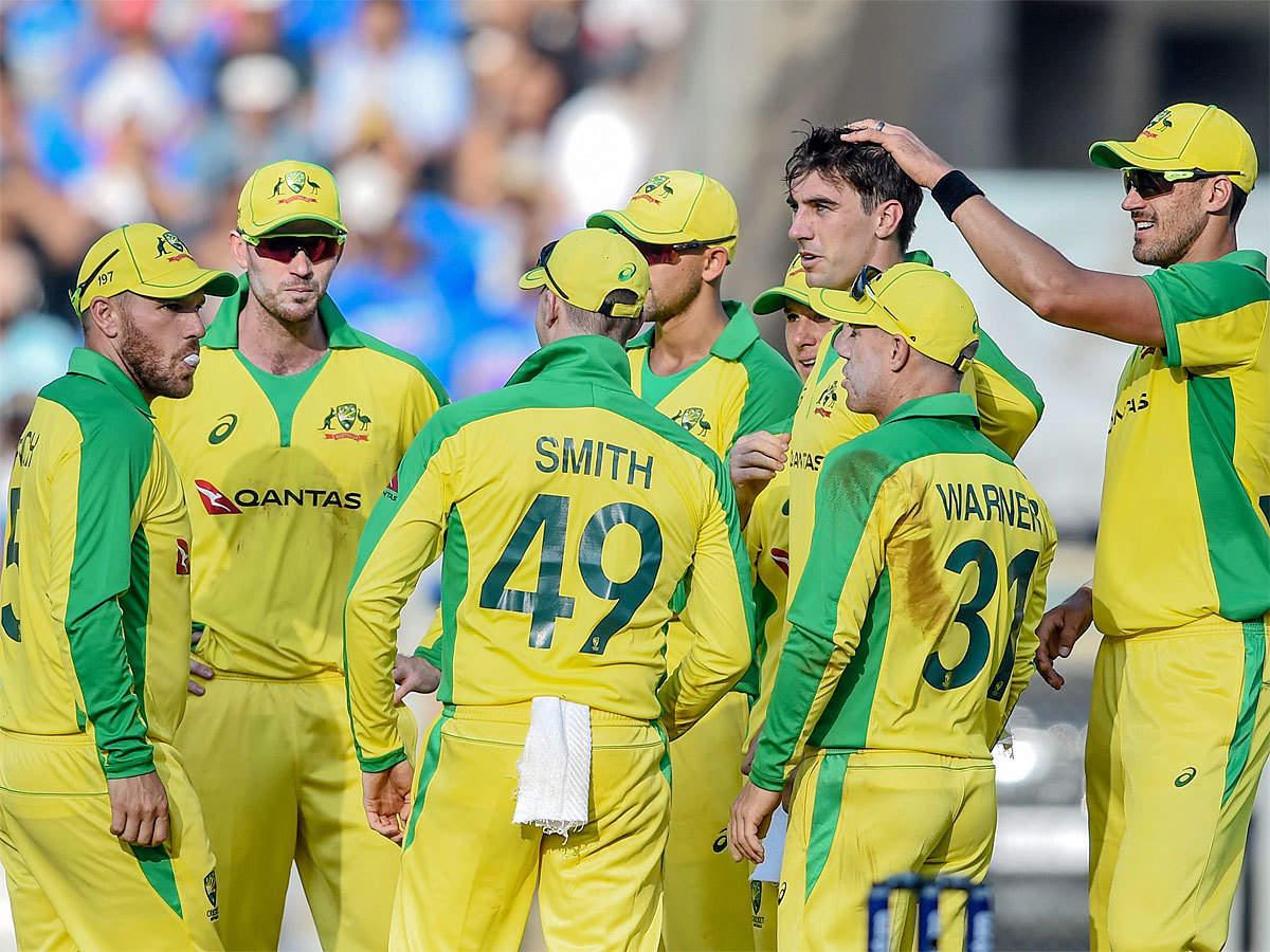 India vs Australia, 1st ODI: Australian bowlers give Team India a reality check   Cricket News - Times of India