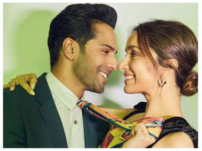 Varun and Shraddha's loved-up pics