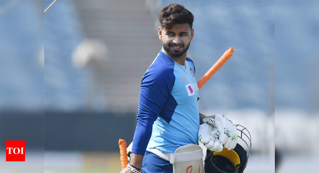 India vs Australia: Concussed Rishabh Pant not to travel with Indian team to Rajkot - Times of India