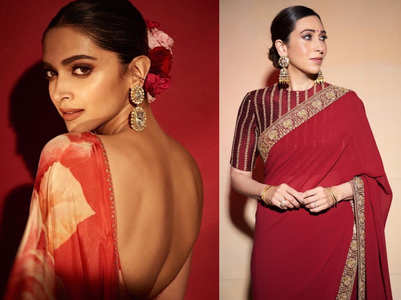 From Kajol to Madhuri Dixit: 5 red saris every bride must bookmark