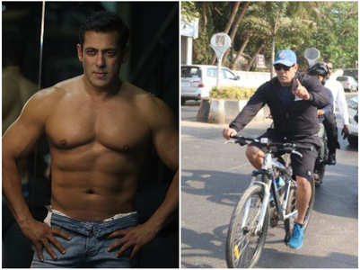 Vids: When Salman ditched his cars for cycling