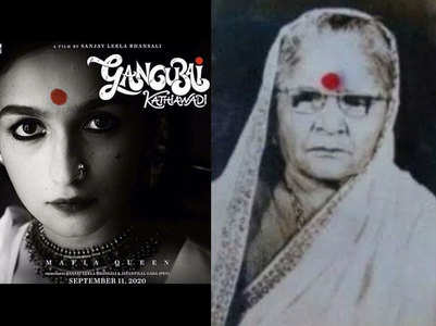 Fans compare Alia and real Gangubai's look