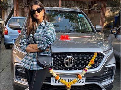 Digangana Suryavanshi gifts herself a car